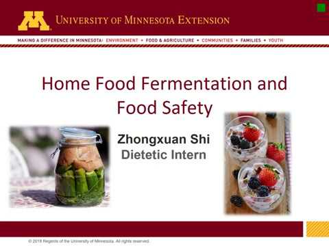 How to make fermented pickles | UMN Extension