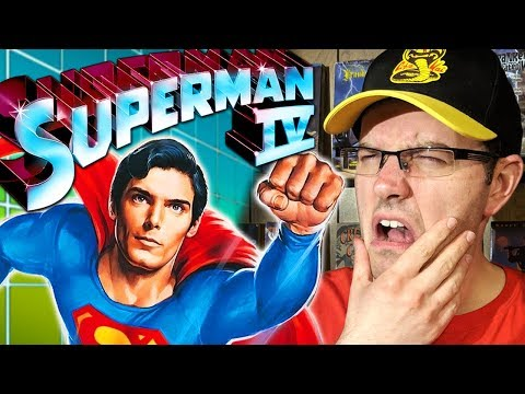 Superman IV: The Quest For Peace (1987) - Worst Superman Movie?? - Rental Reviews