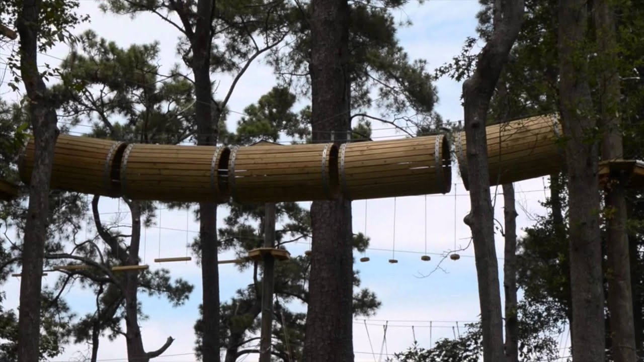 Radical Ropes Adventure Park Myrtlebeach Com Youtube