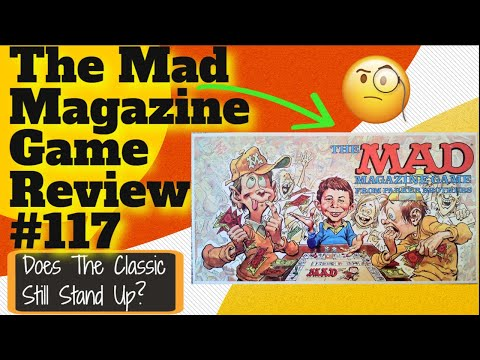 Bower's Game Corner: The Mad Magazine Game Review