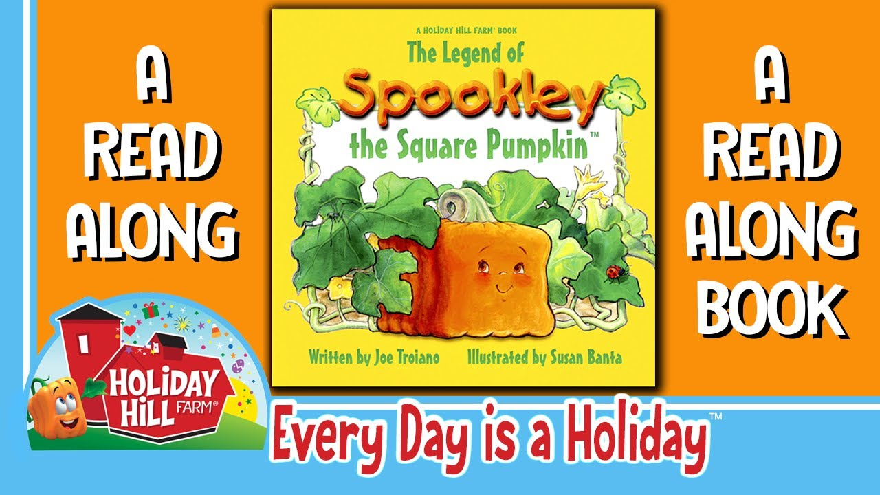 The Legend Of Spookley The Square Pumpkin A Holiday Hill Farm Book Read By Bobby Boris Pickett Youtube
