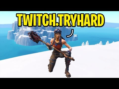 I put Twitch in my Fortnite name to see if I gain new followers... (experiment)