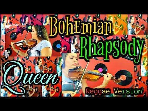Bohemian Rhapsody - Queen | Madeline Alicea Ft. Akinoboa - Cover Song (Reggae Version)