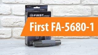 машинка для стрижки волос First FA-5680-1 обзор