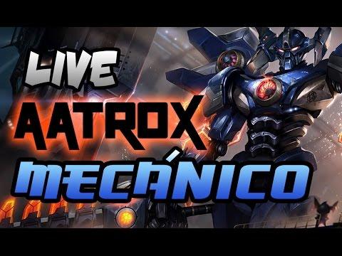 Live Aatrox Mecánico/ Mecha - NEW SKIN - Gipsy Danger VS Kaijus