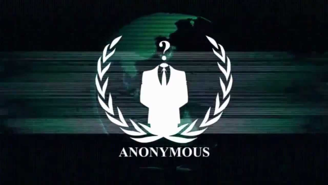 Anonymous Logo Intro - YouTube