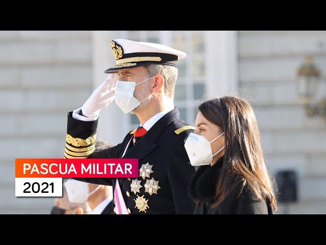 Pascua Militar 2021 desde el Palacio Real de Madrid - Celebración