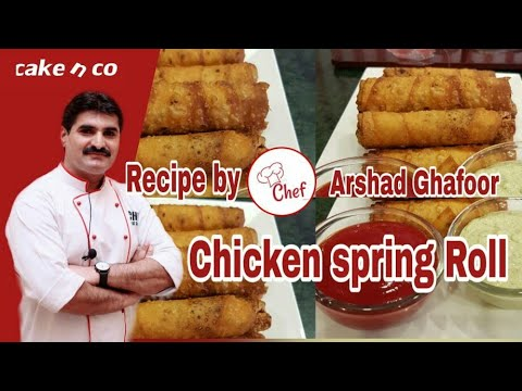Chicken Spring Roll Recipe By ( A.G )Ramzan Special
