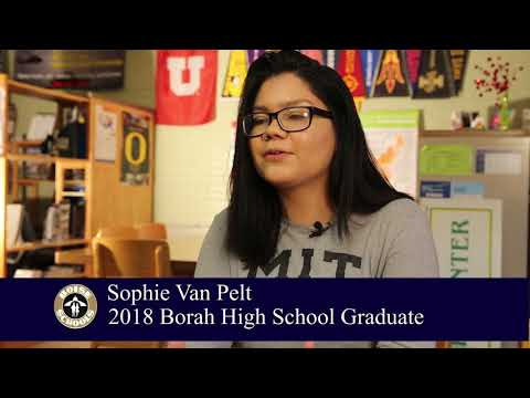 Meet Borah High School 2018 Graduate Sophie Van Pelt