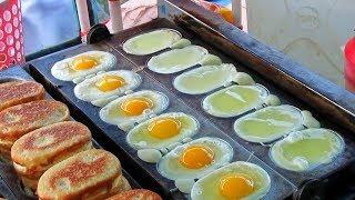 Яйцо торт-удивительная уличная еда из яиц -Дакка,Бангладеш
