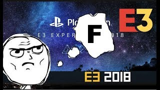 The Worst E3 Ever!! E3 2018 PlayStation Showcase.Ghost of Tsushima,death stranding,resident evil 2