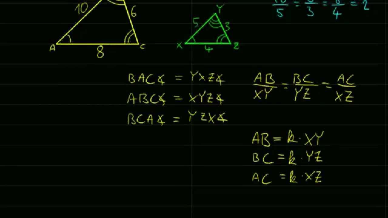 ismerje meg a háromszög hasonlóságok