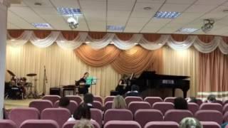 н. Лісова Ескіз /N. Lisova Sketch adapt. for Piano and Domra by A. Markova