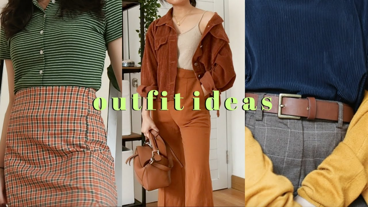 A LOOKBOOK // OUTFIT IDEAS 1