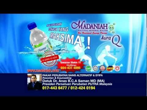 Air Mineral Semula Jadi Aura Q ( Promo dari Iklan TV AL Hijrah )