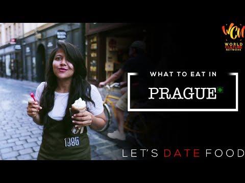 Vegetarian Food In Prague | Let's Date Food | ft. Darshanaa Gahatraj| World Culture Network