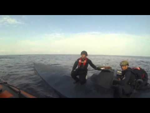 USCG intercepts narco sub