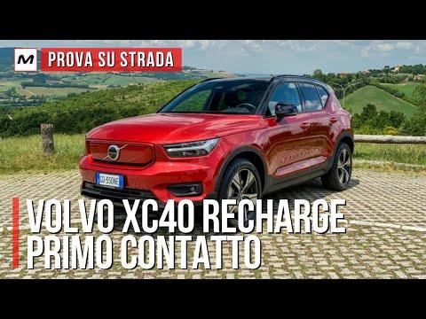 VOLVO XC40 RECHARGE | Prima prova su strada dell'ibrida plug-in e dell'elettrica