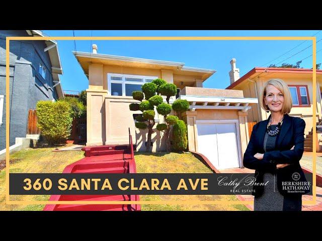 360 Santa Clara Ave, Oakland, CA 94610 | Cathy Brent Real Estate