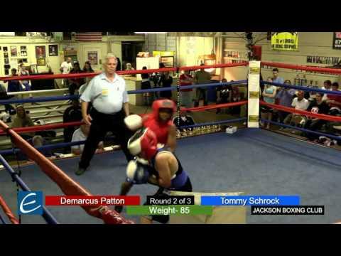 Jackson, Tn Boxing 26MAR2016 D Patton vs T Schrock