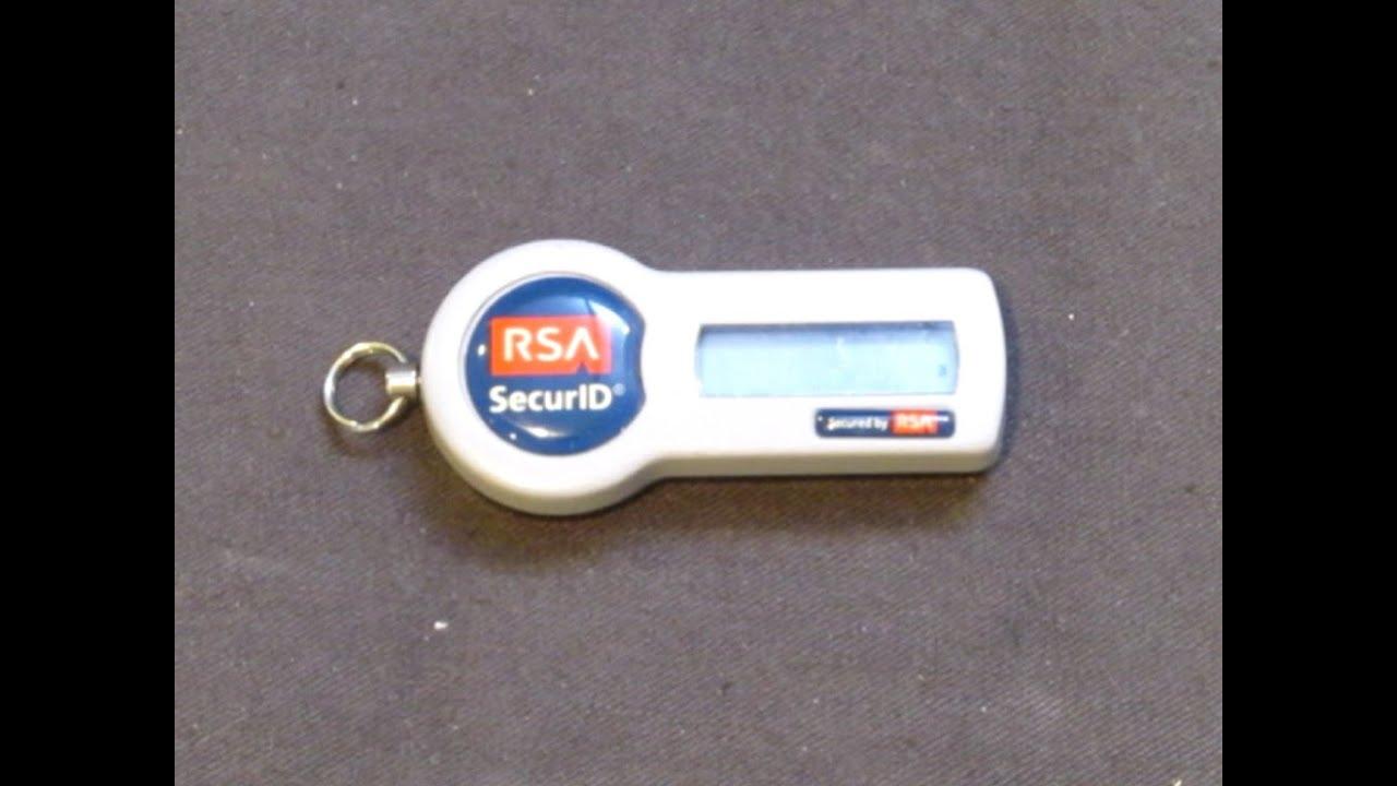 RSA SecurID Teardown