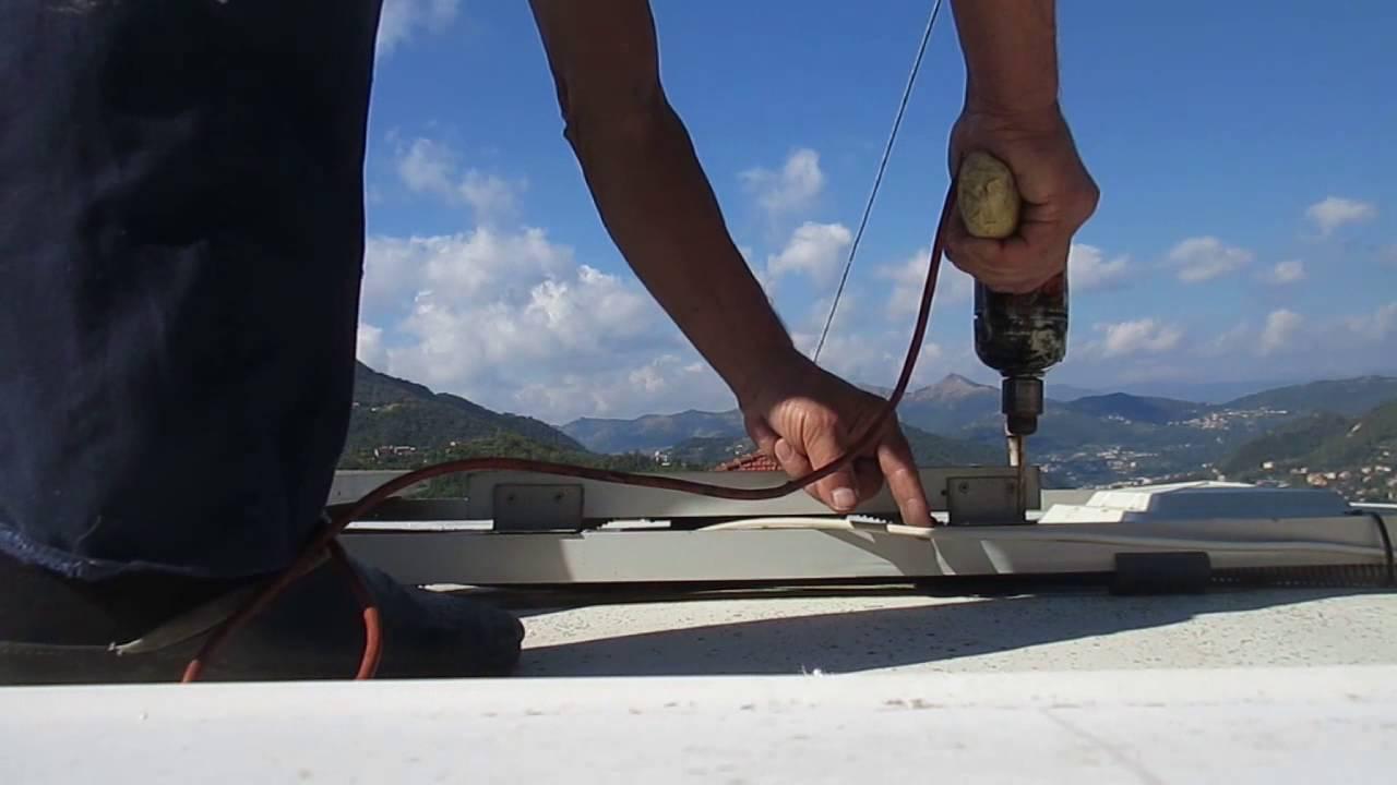 Pannello Solare Kayak : Montare un pannello solare supplementare sul camper youtube