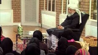 Gulshan-e-Waqfe Nau Lajna, 11 Jan 2009, Educational class with Hadhrat Mirza Masroor Ahmad(aba)