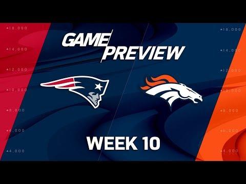 New England Patriots vs. Denver Broncos   NFL Week 10 Game Preview   NFL Playbook