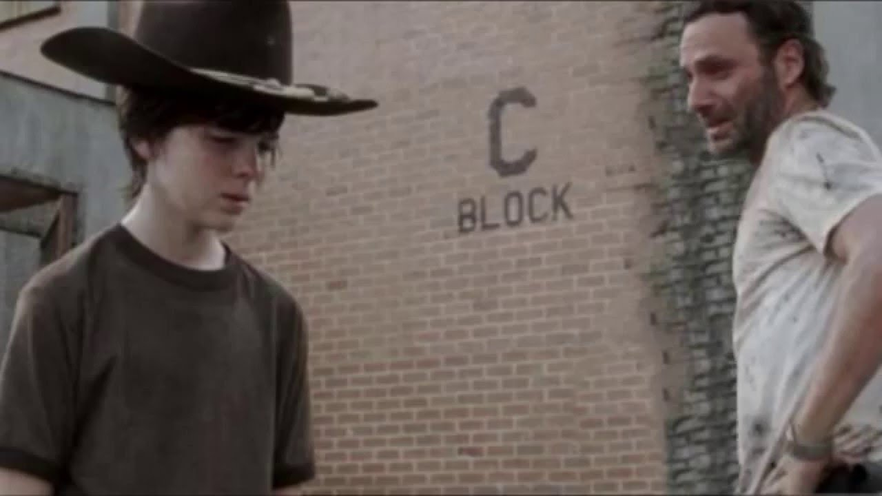 The Walking Dead Carl P Nis Meme German Youtube