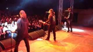 Horkýže Slíže - Mám v piči na lehátku - Olomouc - 1.10.2013 backstage
