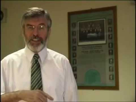 Gerry Adams at Venice Conference: Peace Process and Conflict Resolution