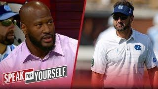 James Harrison weighs in on Larry Fedora's CTE comments | NFL | SPEAK FOR YOURSELF