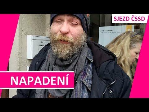 INCIDENT: Údajný novinář napadl na sjezdu ČSSD dva bezdomovce pepřovým sprejem!