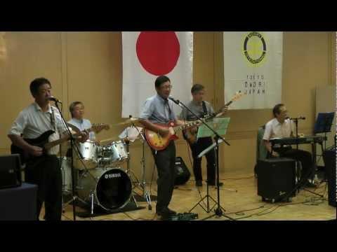8月23日(水)、大森ロータリークラブの例会での「ネプチューン」の演奏から、「Oldies」曲の部です。
