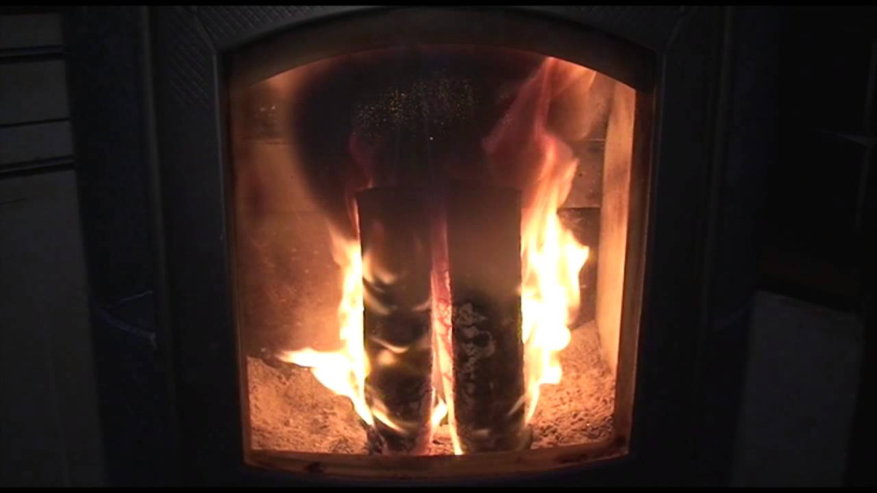 burning pini u0026 kay wood briquettes in an altech eclips stove youtube