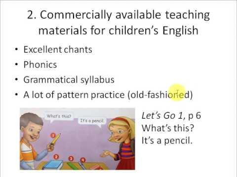 Textbooks for elementary school English