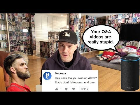 Q&A Part 17 -- Bryce Harper, vaping, 9/11 in NYC, and why I hate Alexa