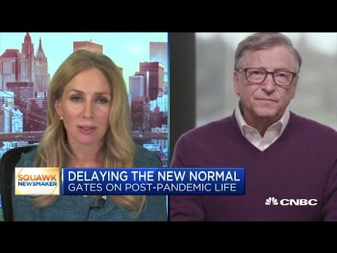 Bill Gates On Post-pandemic Life: 'The Rest Of This Year Will Not Be Normal'