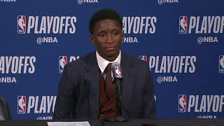Victor Oladipo Postgame Interview | Pacers vs Cavaliers - Game 3 | 2018 NBA Playoffs