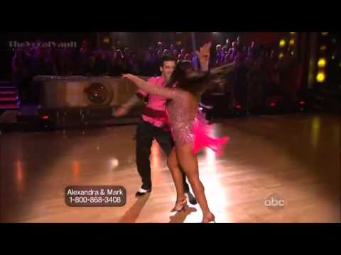 Thumbnail: Aly Raisman & Mark Ballas - Cha Cha-Week-1