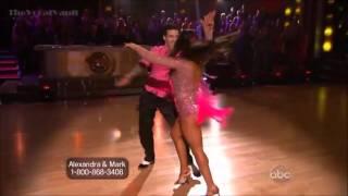 Aly Raisman & Mark Ballas - Cha Cha-Week-1