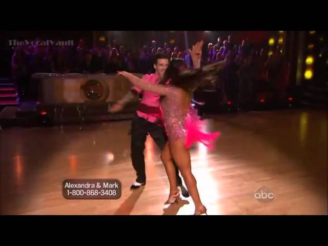 Aly Raisman & Mark Ballas - Cha Cha-Week-1
