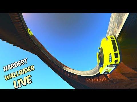LIVE - HARDEST STUNTS #59 - Full Lobby Racing w/ GCCC Crew - GTA 5 Hardest NEW CUSTOM RACES