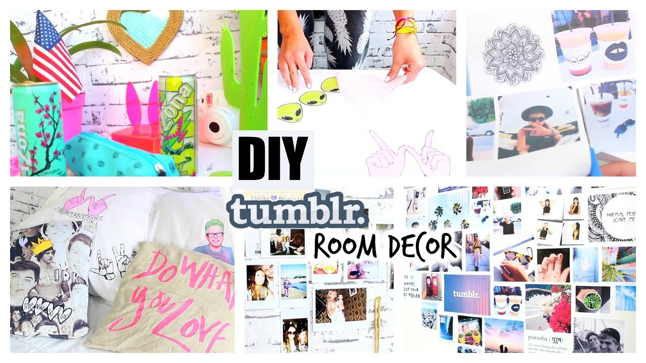 DIY Tumblr Pinterest Inspired Room Decor YOU NEED TO TRY YouTube