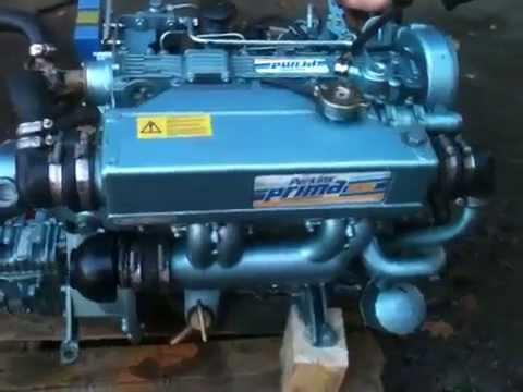 Perkins prima 4 Zyl  50 PS, 4 Betriebstd  Hurth Getriebe