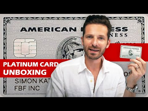 AMERICAN EXPRESS PLATINUM CREDIT CARD REVIEW & UNBOXING   Is It As Good As The Centurion Black Card?