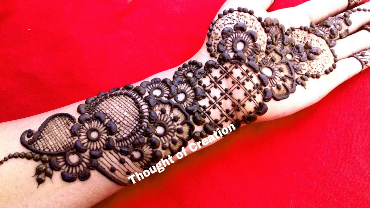 Arabic Mehndi Design Latest 2018 New Stylish Eid Special Arabic Henna Mehndi Design 2018