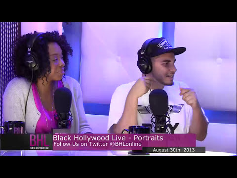 Portraits w/ Alfonso Ribeiro | August 31st 2013 | Black Hollywood Live