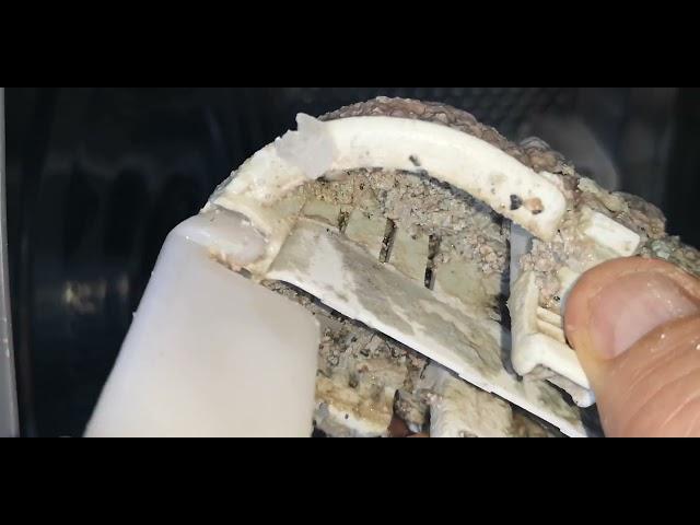 Electrolux/Zanussi felültöltős mosógép belső szűrő kiszedés szu051