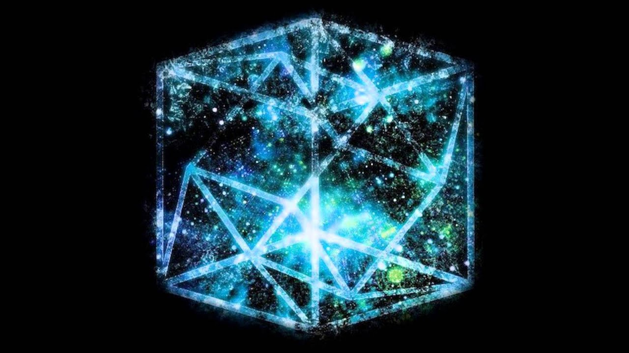 tesseract  cube  space youtube